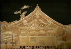 Japanese House  Handmade with rice straw Japan China by museumshop, $99.00  Recycled Leaves