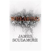 Wreaking by James Scudamore. Three solitary characters remember their shared past in a sprawling, derelict psychiatric hospital on the English coast: a turbulent summer in the aftermath of the hospital's closure that culminated in a shocking, life-altering accident. But the more each tries to comprehend the past, the more elusive it becomes.  Originally published in 2013