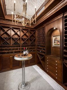 This is a stunning display of ingenuity, aesthetics and timeless wine storage solutions for one of Top 5 Most Expensive Houses in Vancouver, BC. Proud to be part of this amazing project! Wine Cellar Basement, Canadian House, Thing 1, Room Screen, Wood Molding, Expensive Houses, Wine Storage, House Prices, Kitchen Design
