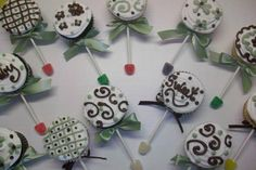 baby rattle cupcakes - Google Search