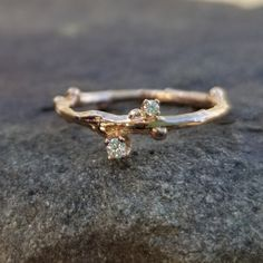 Spirited Dani By Daniel K 2.5 Ctw Round 5 Stone Cz Band Silver 14k Rose Plated Size 6 Other Fine Rings Fine Rings