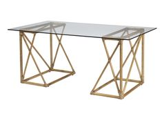 This pair of smartly sized trestle bases can be used to create an elegant desk or small table. Dimensions: x x Material: Rattan frame, leather wrapping, tempered glass Best Desk, Small Tables, Handmade Home Decor, Home Office Decor, Office Furniture, Office Interiors, Interior Office, Home Look, Sweet Home