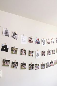 Square Prints from –– perfect for brining life to any wall. Tumblr Wall Decor, Square Photo Prints, Polaroid Wall, Polaroids, Hallway Wall Decor, Memory Wall, Creation Photo, Cute Room Decor, Bedroom Pictures