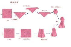 origami dress - Buscar con Google