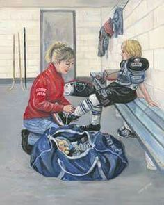 This brings back memories Hockey Goalie, Ice Hockey, Hockey Pictures, Hockey Room, Hockey Rules, Sports Mom, Sports Teams, Sport Inspiration, Sports Figures