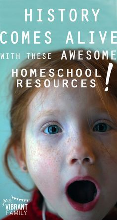 Need history and geography resource and curriculum ideas? Look no further! This comprehensive list compiled by a homeschool mom of four kids has a little bit of everything. You'll love these awesome homeschool history resources! History Books For Kids, Study History, History Class, Kindergarten, Teaching History, Home Schooling, Middle School, High School, Parenting Tips
