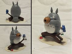 This Totoro was made by a friend called Nefi. It's not my work. But I just love it. All the rights belong to Ghibli and Hayao Miyazaki.