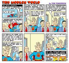 Cartoon: A job for IHOTFM-Man!