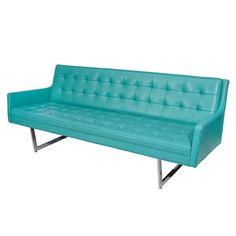 1stdibs | Sleek Tufted Modern Sofa