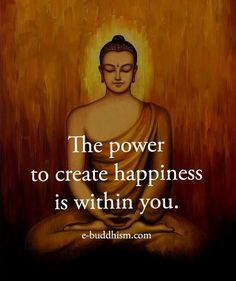 The power to happiness is within you