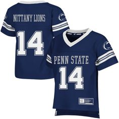 Penn State Nittany Lions Colosseum Toddler Football Jersey - Navy - $31.99
