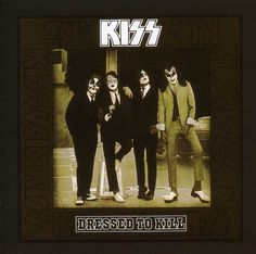 """this is """"Rock And Roll All Night"""" by the legendary KISS of their """"Dressed To Kill"""" album, enjoy Rock And Roll, Lp Cover, Cover Art, Kiss Destroyer, Hard Rock, Kiss Album Covers, Kiss Records, Kiss Songs, Kiss Music"""