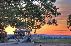 The Civil War battlefields in Gettysburg are a must-stop, but there are also loads of other historical attractions like the Shriver House Museum , the Jennie Wade House , and of course the annual Gettysburg reenactment that are worth a looksee.