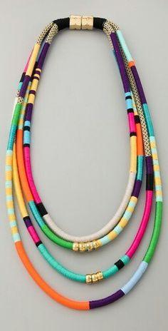 boho necklace   mishtiart.blogspot.com