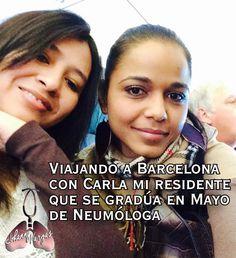 Volando al Congreso en Barcelona, que gran ciudad.
