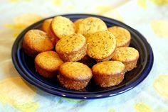 paleo lemon poppy seed mini muffins (paleo, GF) | elana's pantry