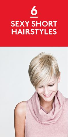 6 Sexy Short Hairstyles | From the time flappers took up scissors to crop their hair (not to mention their hemlines), short has equaled modern. And in an era when brevity reigns—we now tell whole stories in 140 characters or less—short hair seems especially current. But if you think of it as limiting, think again.