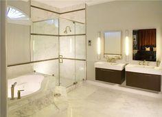 Contemporary (Modern, Retro) Bathroom by Heather Soto