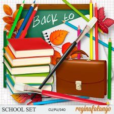 SCHOOL SET #CUdigitals cudigitals.com cu commercial digital scrap #digiscrap scrapbook graphics