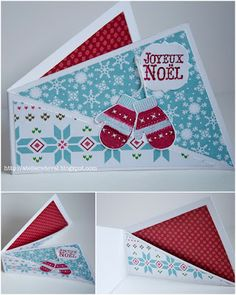twisted card by valerie perlin (tutorial page on my Craft Tutorials Board)