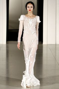 Temperley London Fall 2011 Ready-to-Wear Collection Slideshow on Style.com