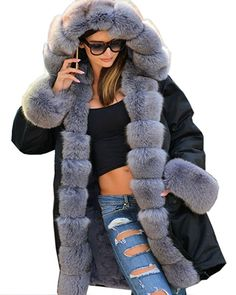 SalePlusDeal - Women/Women_Clothing/Women_Clothing_Coats_Jackets_And_Vests/Women_Clothing_Coats_Jackets_And_Vests_Fur_And_Faux_Fur