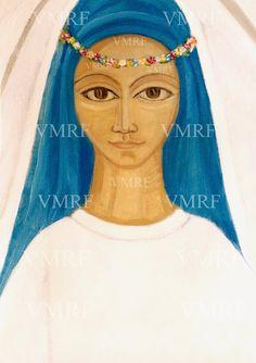18 de Septiembre de 1996 Historia Mariavita VMRF Manifestación de la  Virgen María Reina de las Flores  en La Casa