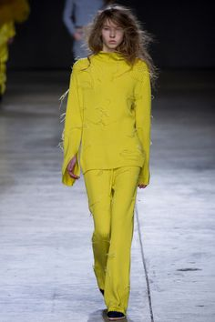 Marques'Almeida | Fall 2014 Ready-to-Wear Collection | Style.com