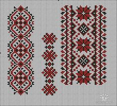 Cross Stitch Floss, Cross Stitch Borders, Cross Stitch Designs, Cross Stitching, Cross Stitch Patterns, Folk Embroidery, Ribbon Embroidery, Cross Stitch Embroidery, Embroidery Patterns