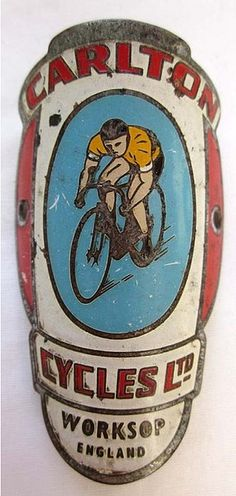 English Carlton Headbadge, 1969  http://www.flickr.com/photos/10703870@N06/6922391969/in/contacts/