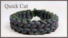"Paracord Bracelet Instructions: ""Cloverfield V1"" Bracelet Design Quick Cut - YouTube"
