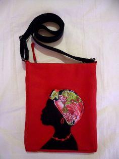 Bolsa Mulher Africana de Chita