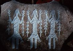 The Yei are supernatural Holy People who communicate between the Navaho and their gods. They are usually shown carrying pine boughs, yucca strips and rattles in healing ceremonies. Each petroglyph is hand crafted reflecting images and messages inspired by the Ancient Ones. Native stones are carefully selected for each petroglyph with no two alike.