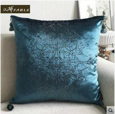 Luxurious Sliver Print Velvet Pillow with Tassle Velour Home Decor Cushion /sofa cushions decorative Throw Pillow-in Cushion from Home & Garden on Aliexpress.com   Alibaba Group