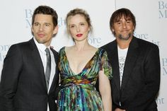 Ethan Hawke, Julie Delpy, Richard Linklater - GECEYARISINDAN ÖNCE / BEFORE MIDNIGHT - 2013 New York Prömiyeri Midnight Film, Before Midnight, Before Sunrise, Romantic Movies, Most Romantic, All Movies, I Movie, Before Trilogy, Julie Delpy
