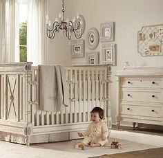 Neutral/cream nursery boy or girl