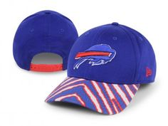 The days of boring hats are over! Add some zany style to your Buffalo Bills gear with this Zubaz basic adjustable snapback hat from New Era! It features a team-colored animal print over the bill inspired by pop culture's instantly popular brand Zubaz, with an embroidered logo on the crown. So throw it on to top off your outfit at the next big game and let that funky look illuminate your Bills spirit for all to see!