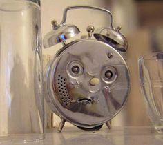 l'Horloge en colère