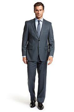 Classic Fit Two Button 'Pasini/ Movie' Suit, Navy.