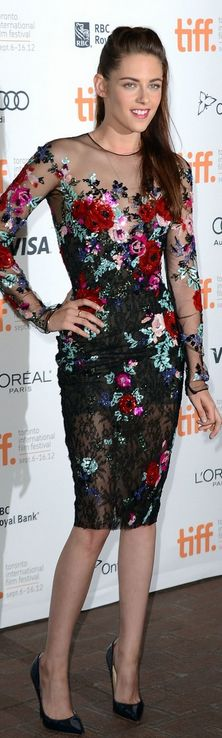 Kristen Stewart - don't know where i would wear a dress like this, but i think its pretty Dress – Zuhair Murad