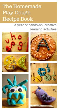 A year of hands-on, creative learning activities based around sensory play using play dough