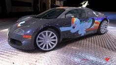 Rainbow Dash Bugatti Veyron by Lex-the-Pikachu on DeviantArt Rainbow Dash, My Little Pony Decorations, My Little Pony Characters, Little Poney, Like Image, Mlp Pony, Mazda 3, My Little Pony Friendship, Bugatti Veyron