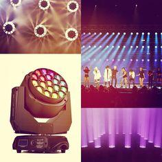 LiteLEES Big Eye L10 Rotation 4 in 1 RGBW 1915W LEDs make your show more awesome!!!! #lightingdesigner #concert #clublife #clubedosiluminadores #nightlife #brightnessblog #chuch #churchproduction