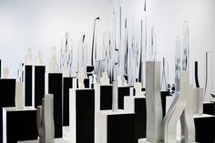 Zaha Hadid – World Architecture Exhibition. Photograph by Hanne Hvattum