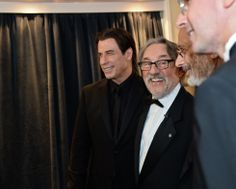 John Travolta  who played in 1981 in Blow Out by Brian de Palma filmed by Vilmos Zsigmond on right