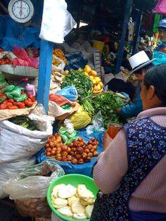 Alessandra Zecchini: Food market in Cusco (Mercado de Wanchaq), Peru