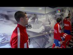 Calentamiento Real Madrid vs Atlético de Madrid Real Madrid Club, Warming Up, Athlete
