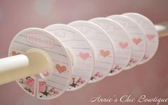 Baby Closet Dividers Floral Closet Divider by AnniesChicBowtique