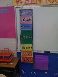 clip chart...already using this in my room and it really helps to motivate kids to do their best when you have them clip-up