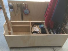 Plywood Camp Closet and Storage Chest. 24 x by SawdustWoodCrafting